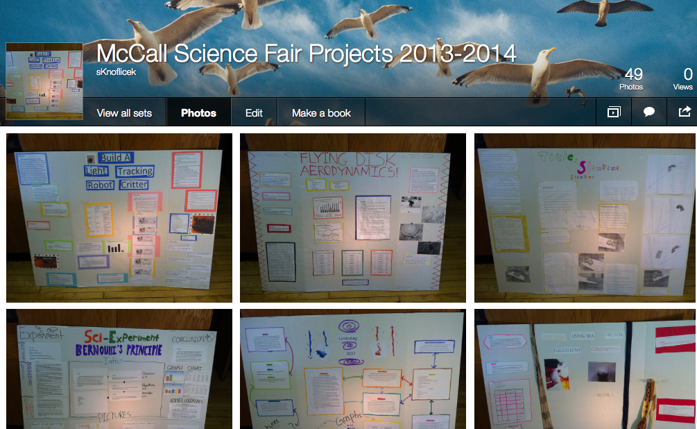 mccall science licensed for non commercial use only science science fair materials